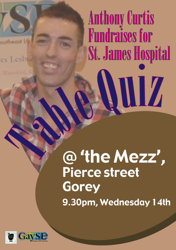 Table Quiz in Aid of St James Hospital
