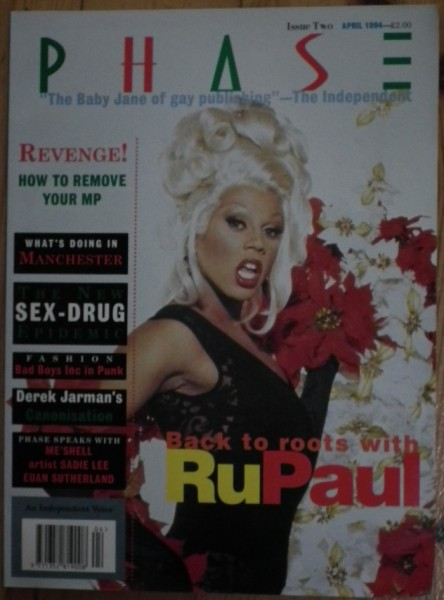 Phase Issue two • Featuring RuPaul on the Cover